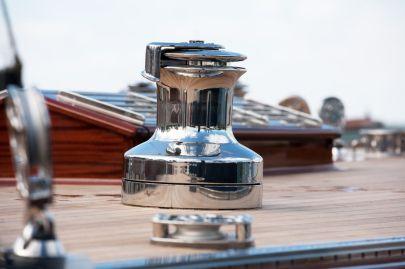 Siesta (DEN-12 / Anker 434) deck hardware chosen to match the classic design aesthetic ~ Robbe & Berking Classics photo
