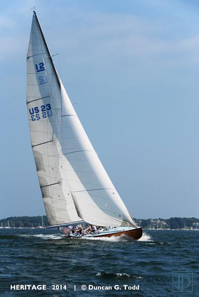 HERITAGE US23  12 Metre Yacht Club Newport Station