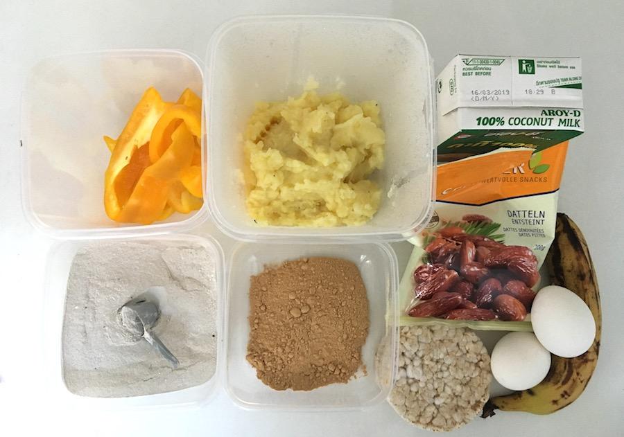 Post- und Pre-Workout Mahlzeit in Woche 2 & 3