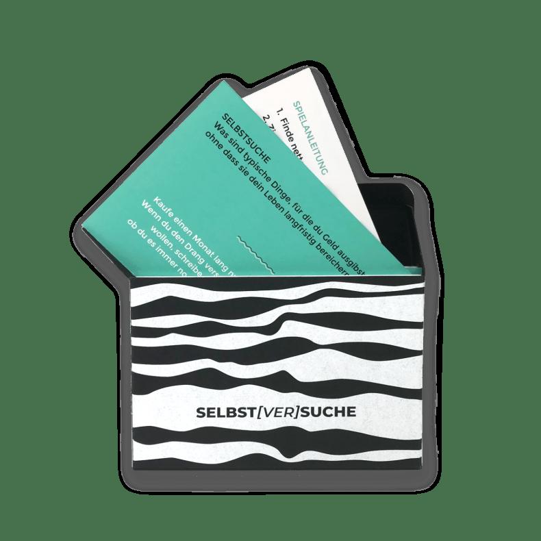 """Frage- und Impulskarten """"Selbst[ver]suche"""""""