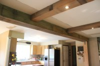 DIY Reclaimed Barn Wood Beams