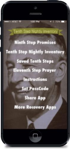 10th Step Nightly Inventory Worksheet : nightly, inventory, worksheet