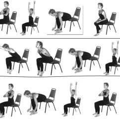 Yoga Chair Exercises For Seniors Steel With Handle Office Simple To Do At Your Desk And Poses Style