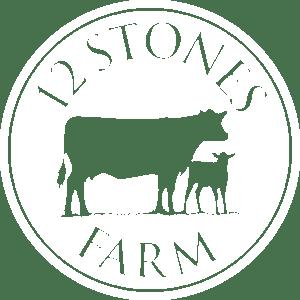 12 Stones Farm White Cow