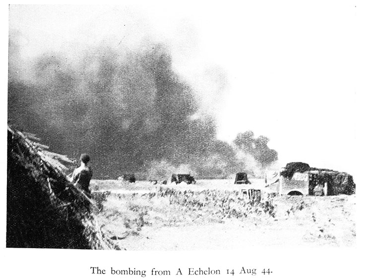 Aug 14th bombing-TJ.Bell WWII - 12th Field