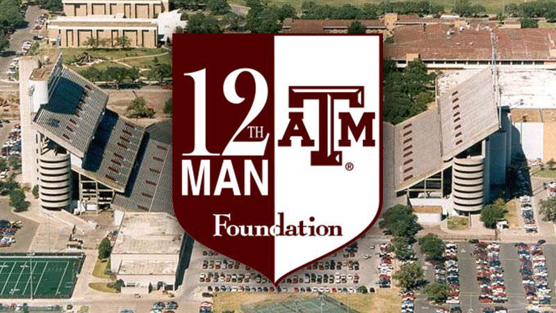 But it definitely looks like the 12th man may have exceeded that. 12th Man Texas A M University