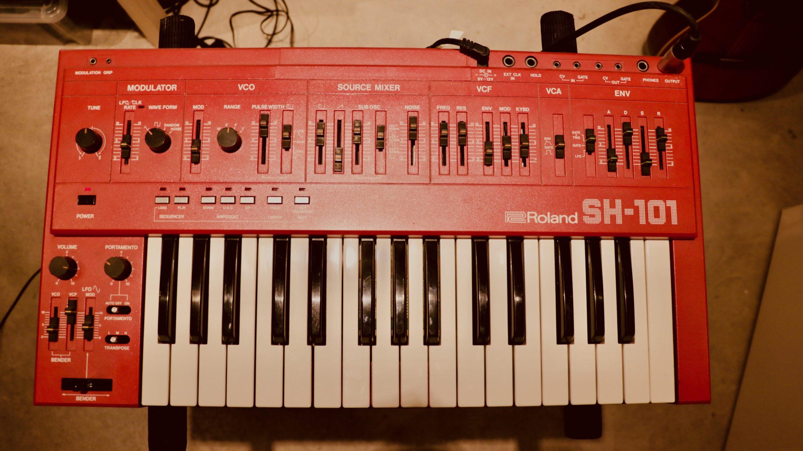 Roland SH-101 - 12 Tree Studios