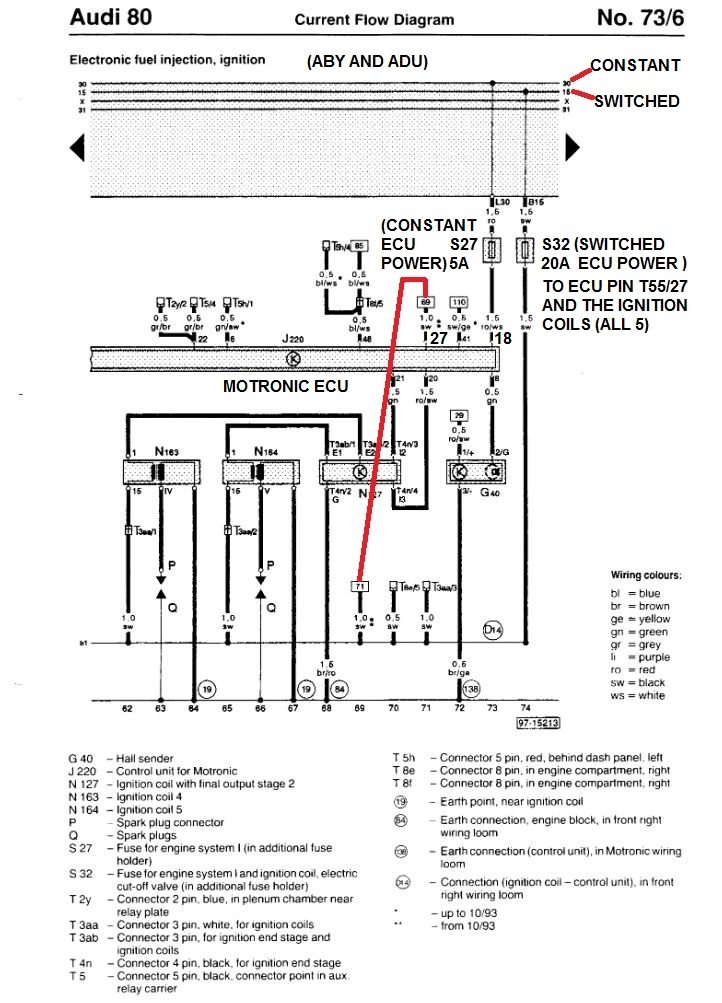 DIAGRAM Audi Aan Wiring Diagram High Quality and Full
