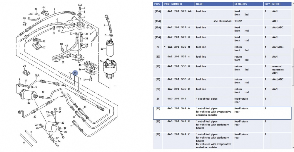 C4 UrS Fuel System: From the Tank to Injectors and Back