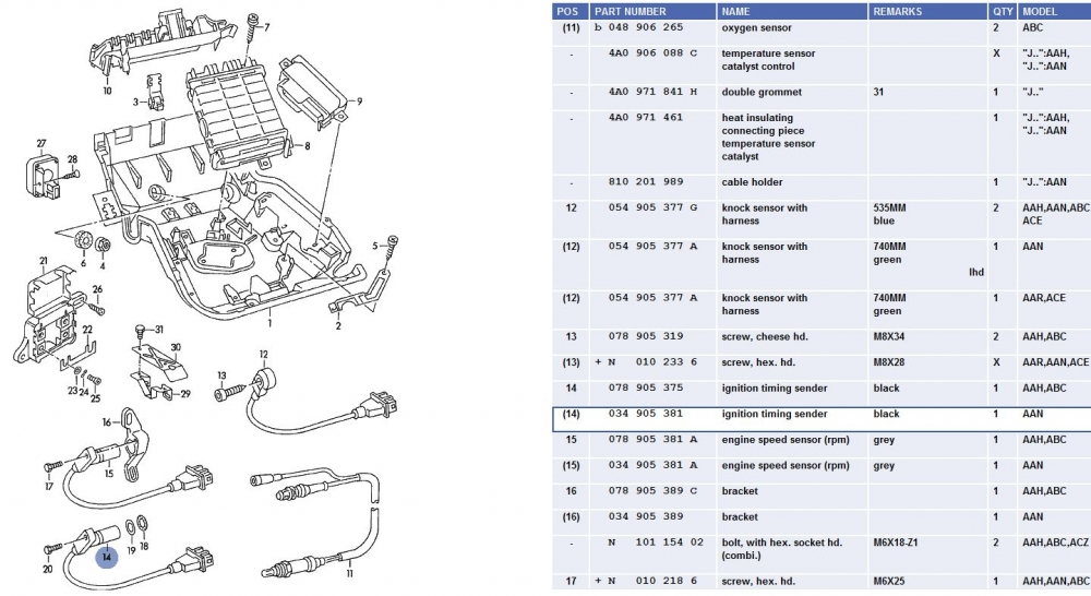 quattroworld.com Forums: Crank Position (G4) and Engine