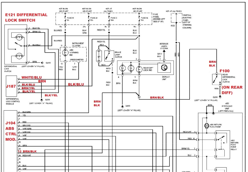 B6 Abs Module Wiring Diagram : 28 Wiring Diagram Images