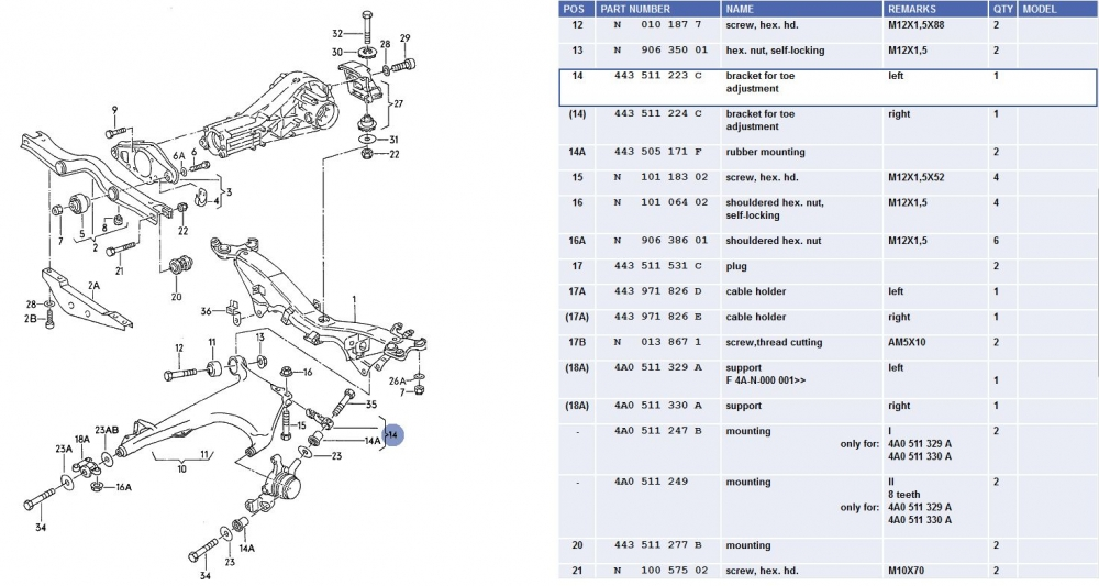 2005 Ford Focus Rear Suspension Diagram, 2005, Free Engine