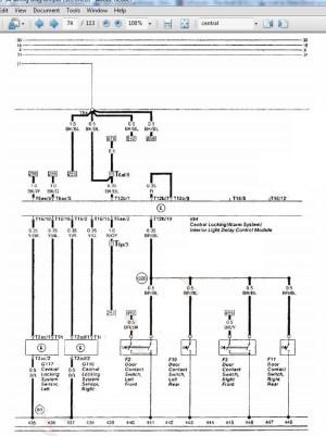 quattroworld Forums: Early C4 Central Locking Control