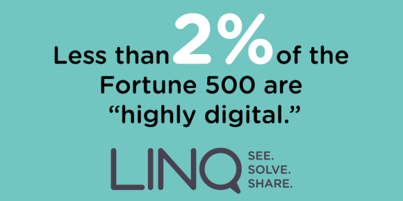 """Less than 2% of the Fortune 500 are """"Highly Digital"""""""