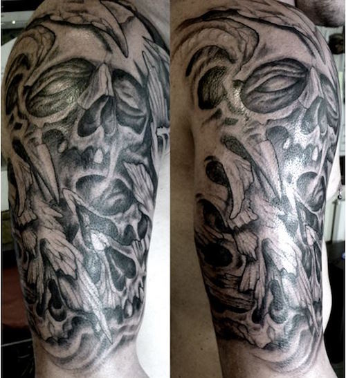 spooky ghost tattoos