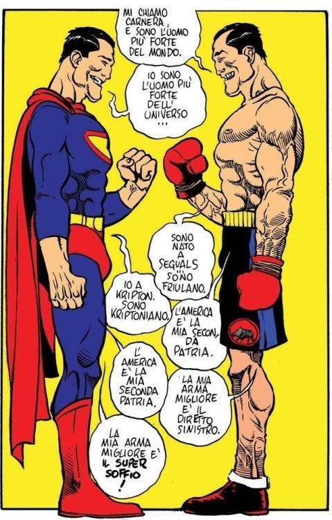 Primo Carnera e Superman