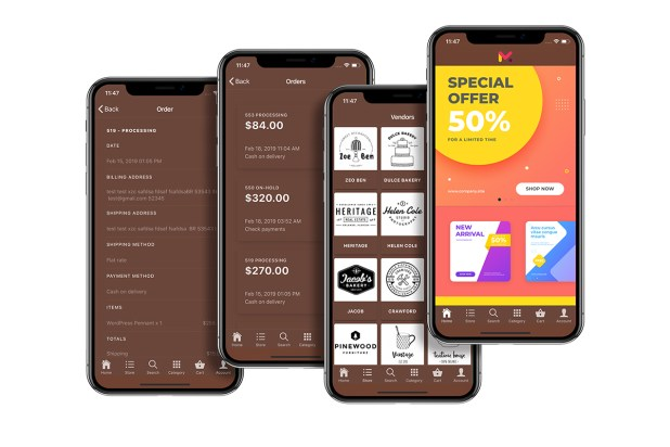 Quick Order ionic 5 mobile app for woocommerce with multivendor features - 19