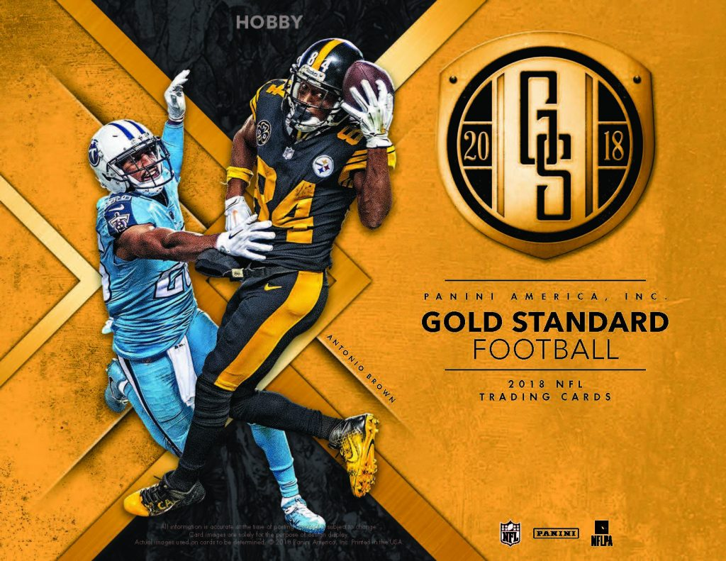 2018 Gold Standard Football Sports Cards 130 Point