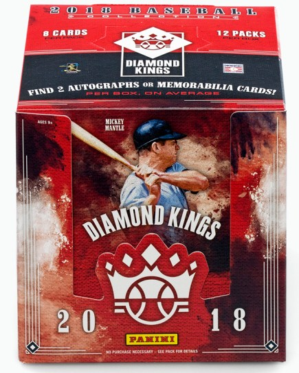 2018 Diamond Kings Baseball