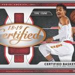 2018-19 Certified Basketball