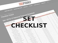 Set Checklist