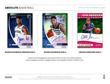 2019-20 Panini Absolute Basketball Sell Sheet 02