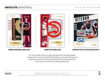2019-20 Panini Absolute Basketball Sell Sheet 03