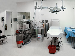 Alcor operating room
