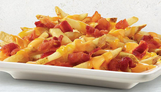free baconator fries with