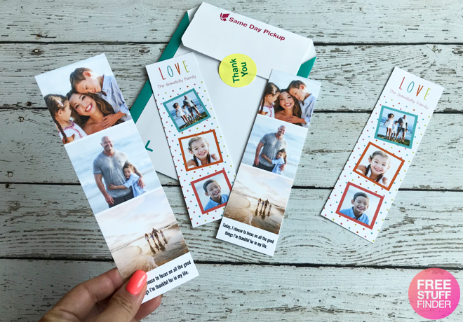 4 free personalized bookmarks