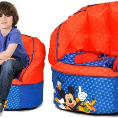 Minnie Mouse Bean Bag Chair Iconic Leather Disney Mickey Chairs From Only 13 53 At Walmart