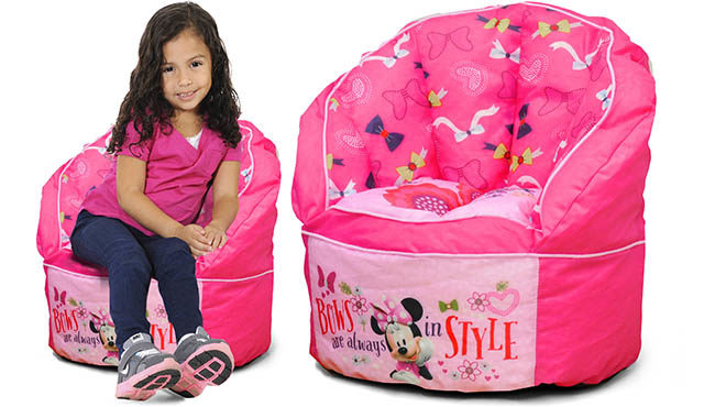 minnie mouse bean bag chair spanish colonial dining chairs disney mickey from only 13 53 at walmart cars 16 67 reg 24 99 toddler