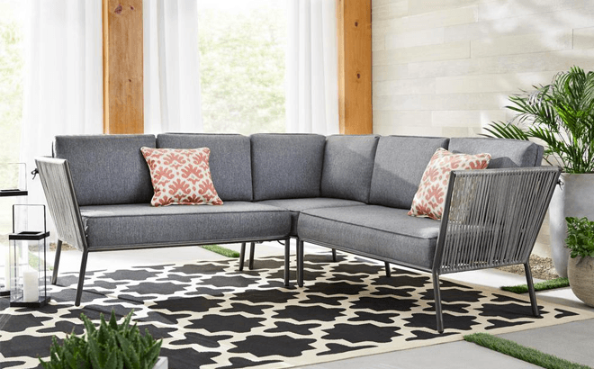 outdoor sectional furniture set only