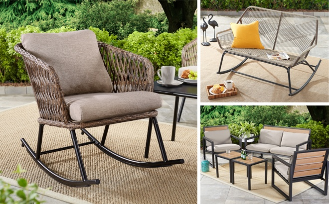 patio furniture up to 65 off at walmart