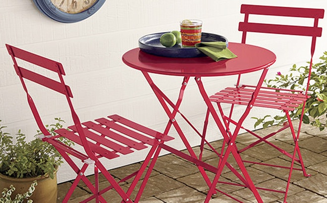 outdoor oasis bistro set only 89 99 at