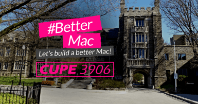 Let's build a better Mac CUPE 3906