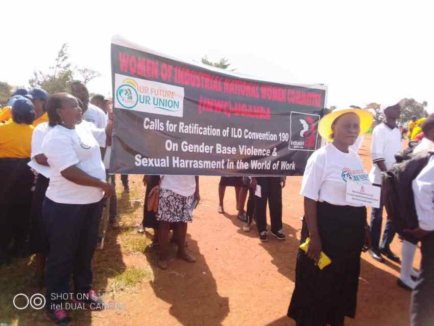 Unions in Africa campaign for ratification of ILO C190