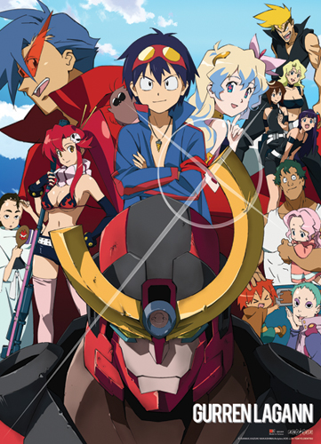 gurren-lagann-group-wallscroll-2013