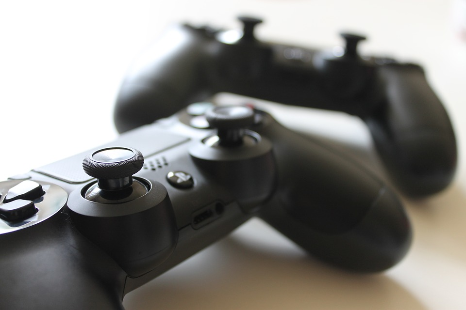 PS4 Controllers (Source: Pixabay - Free to Use Images).