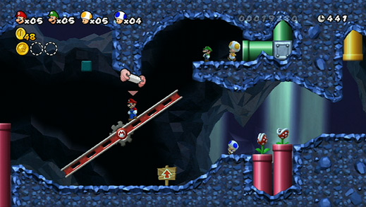 New Super Mario Bros. Wii (Image from mario.nintendo.com)