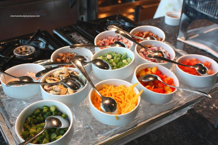 Fun Food Stations For Your Wedding Reception