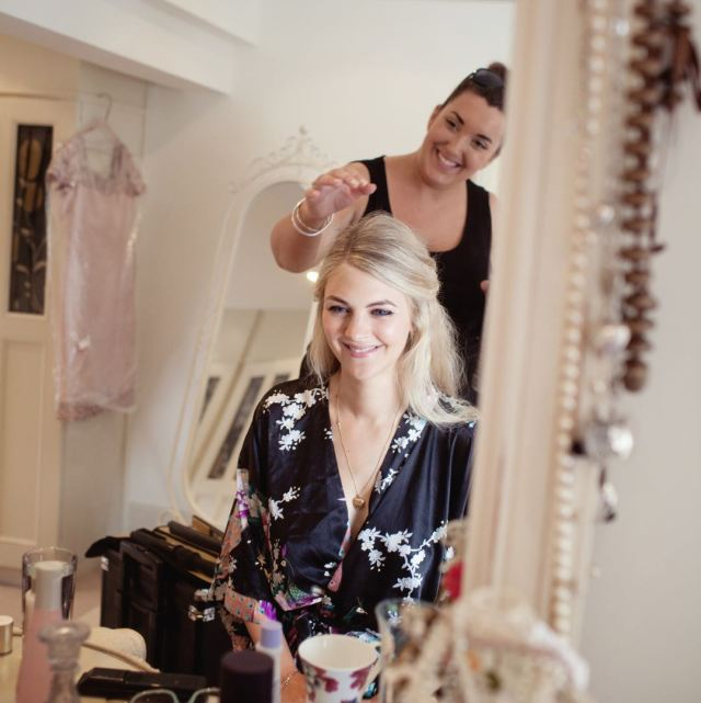 mon amie | wedding hair stylist in nottingham