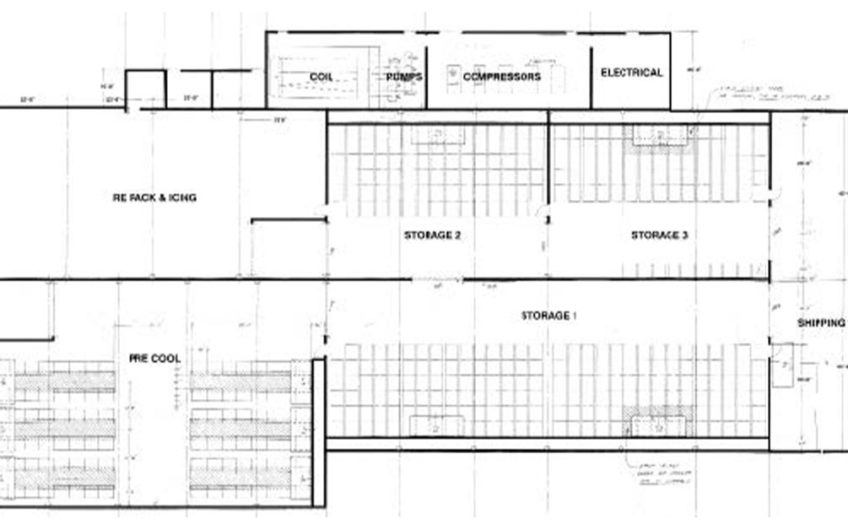 COLD STORAGE BUILDING ZONED FOR CULTIVATION IN THERMAL, CA