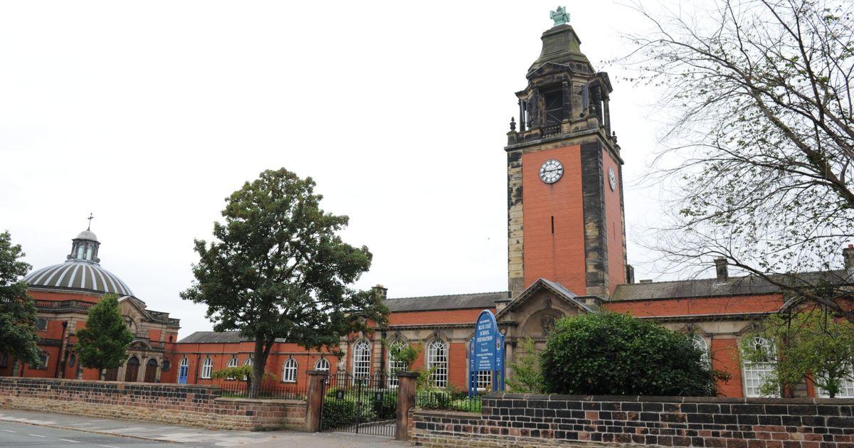 Speaking at Bluecoat School Liverpool