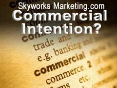 Keywords: Detecting Commercial Intention