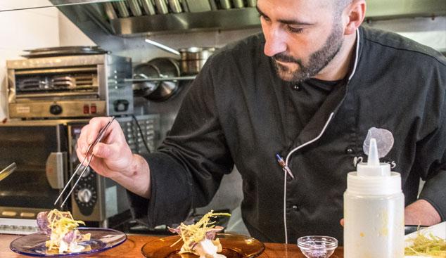 El Chef - Jaume Grau - 13 Llunes Sitges Restaurant