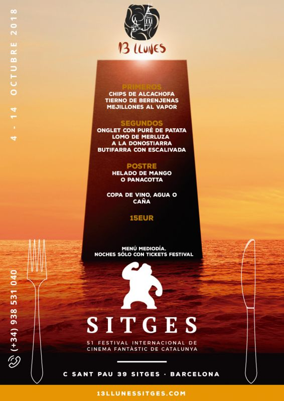 Festival Cine Fantástico Sitges 2018