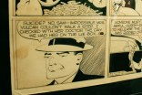 "Detalle original ""Dick Tracy"" - Chester Gould"