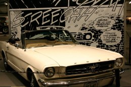 "Ford Mustang Convertible - ""Sin City"" - Frank Miller"