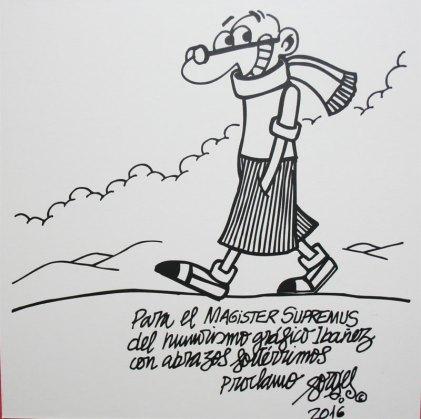 """Forges - Exposición """"Ibañez 80 años"""" - homenaje varios autores"""